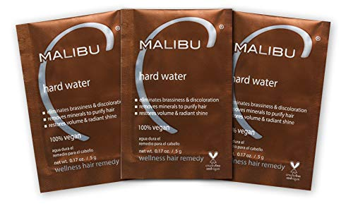 Malibu C Hard Water Wellness Hair Remedy, 3 Count