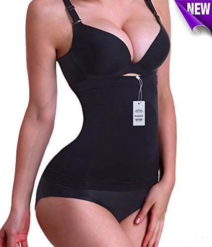 [Gotoly Novelty Halloween Costume Party Waist Trainer Tummy Fat Burner (M, Black(2-3 day delivery))] (Womens Plus Halloween Costumes)