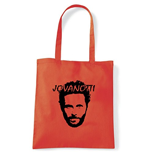 Art T-Shirt, Tasche Shoulder Lorenzo Jovanotti Arancio