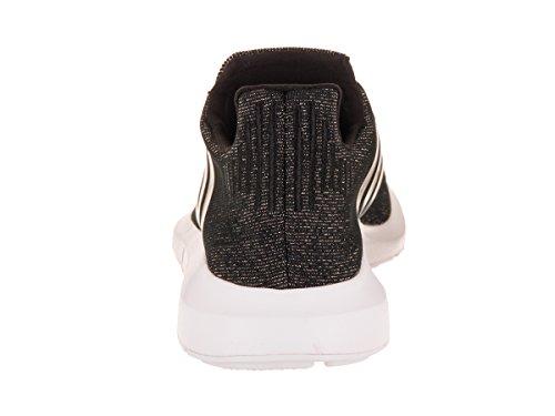 Adidas Originals Women's Swift W Running-Shoes,Core Black/Core Black/White,7 M US