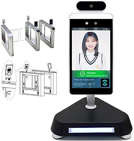 Godlv Thermometer Digital Gesicht Anerkennung 8 Zoll Smart Kamera Temperatur Messung System Nicht Kontaktieren Eingang Ausfahrt Für Eingang Und Ausgang Küche Haushalt