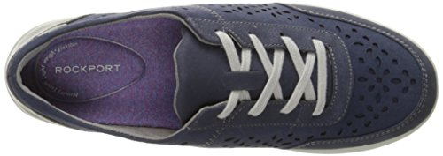 Rockport Dames Emalyn Das Mode Sneaker Blauw