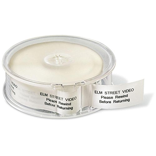 3/4 Clear Address Labels - Clear Rolled Address Labels with Dispenser by Colorful Images