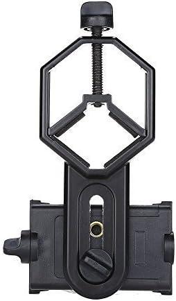 Boblov cm-4 teléfono móvil adaptador compatible con diámetro de 25-48 mm prismáticos/Monocular/telescopio/microscopio/Caza Alcance/astrofotografía para Samsung/iphone/Galaxy/huawei y otro Smart Phone