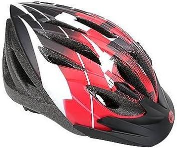 BELL Casco para Bicicleta de Ciclismo Crossfire Rojo y Negro ...