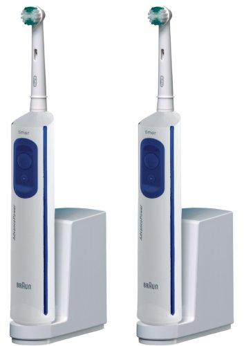 Braun Oral-B Advance Power d9511 Cepillo de dientes eléctrico, doble Pack