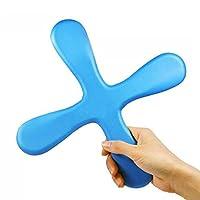 Vococal® Ultra-dünne EVA Indoor Sicherheit 4 Blatt Boomerang, Blau