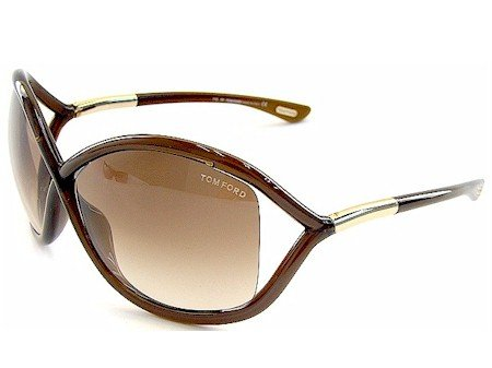 523fbb33919 Amazon.com  Tom Ford Whitney TF 9 692 Dark Brown Brown Gradient  Clothing