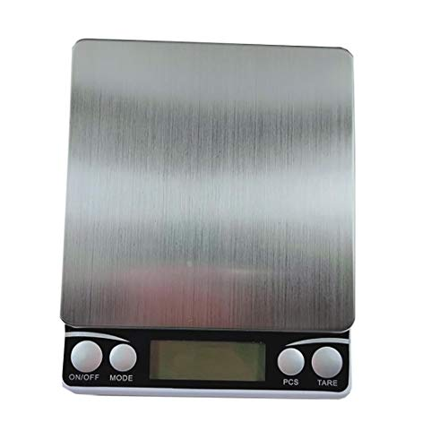 Digital Scale,LtrottedJ High Precision Mini Stainless Steel Jewelry Scale,0.01g/0.1g Electronic Scale (C) by LtrottedJ