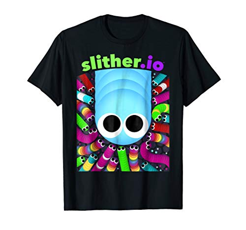 Slither.io I Am Your Leader Graphic T-Shirt
