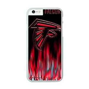 iPhone 6 White Cell Phone Case Atlanta Falcons NFL Durable DIY Phone Case Cover NLYSJHA1750