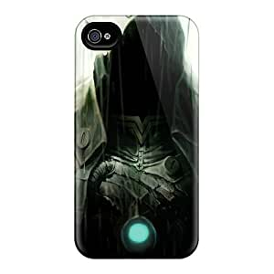 Hot Design Premium Vng2641yrwN Tpu Case Cover Iphone 4/4s Protection Case(assassins Creed)