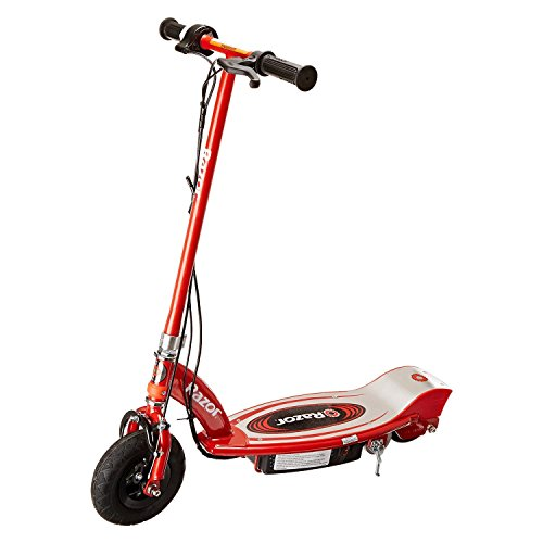 - Razor E100 Motorized 24 Volt Electric Powered Ride-On Scooter, Red | 13111260