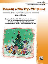 - Alfred Famous & Fun Pop Christmas Book 3