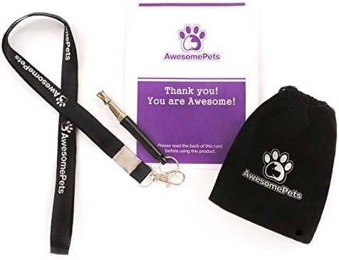 AwesomePets Ultrasonic Training Whistle Adjustable