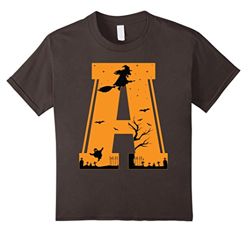 Costumes Letter W Halloween (Kids Letter A Halloween Costume Group Shirts Tees 10)