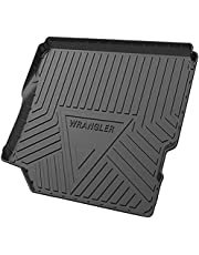 Rubber Auto Kofferbak Liner Boot Matten voor Jeep Wrangler 4 deuren Sahara, Interieur Accessoires van Waterdichte Antislip Anti Scratch