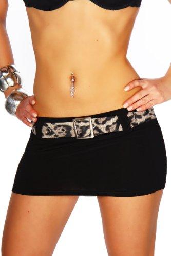 Somnia Luna - Vestido - para mujer Black - Schwarz/Leo