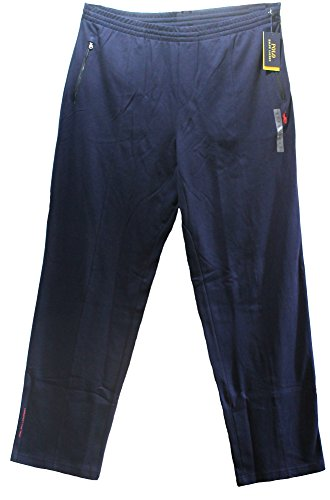 n's PERFORMANCE Athletic Track Pants BIG AND TALL little pony FRENCH NAVY (XLT) ()