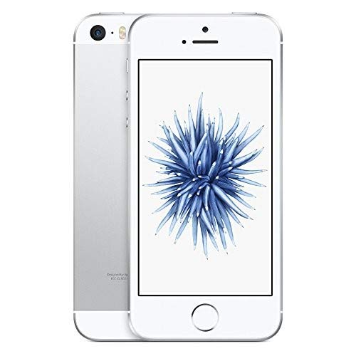 Apple iPhone SE, GSM Unlocked, 32GB - Silver (Renewed)