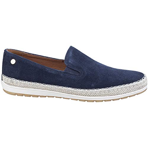 Mens Slip Suede Ryder Gabicci Casual Shoes Espadrille Navy On dUFIwnfW