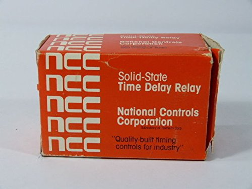 National Controls CKK-00010-461 Solid State Time Delay Relay 0.1-10 sec