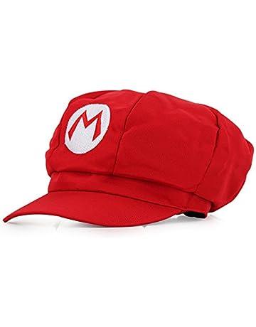 Super Mario Gorra - Disfraz de Adulto y Niños Carnaval y Cosplay - Classic  Cappy Cap 4faf2b26aa03