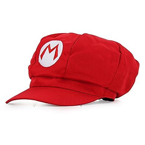 Super Mario Gorra - Disfraz de Adulto y Niños Carnaval y Cosplay - Classic  Cappy Cap  Amazon.es  Juguetes y juegos aaa824ee3e5