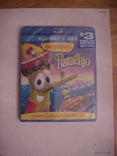VeggieTales Pistachio: The Little Boy That Woodn't Blu Ray Disc Movie (Veggietales Pistachio The Little Boy That Woodn T)