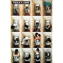 Toilet Cam (Bathroom Scenes) Art Poster Print - 24x36