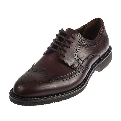 Mephisto - Zapatos de cordones para hombre blank granate