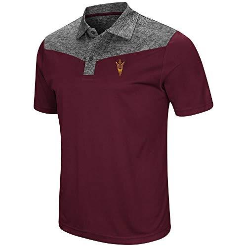 Mens Arizona State Sun Devils Polo Shirt - L
