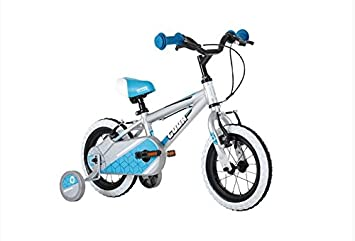 Cuda Blox 12 Boys Bicycle 3 5 Yrs Aluminium Silver Blue Amazon