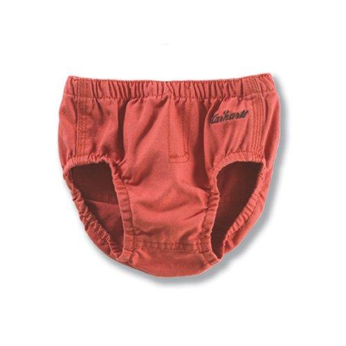 Carhartt Kid's CH8207 Washed Duck Diaper Cover - 6 Months - Dark (Carhartt Kids Washed Duck)