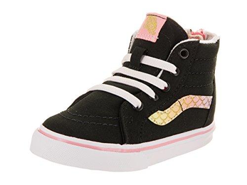 Vans Toddler Sk8-Hi Zip (Mermaid) Rainbow/Gold VN0A32R3OOI Toddler 4 for $<!--$49.99-->