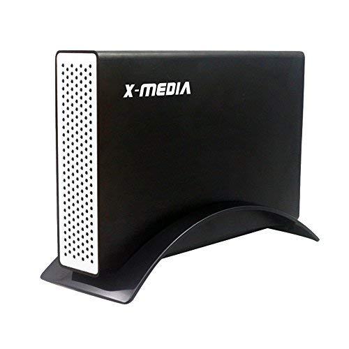 X-MEDIA 3.5-Inch USB 3.0 SATA I/II/III Aluminum Hard Drive External Enclosure Case [XM-EN3251U3-BK] (External Hard Drive Head)