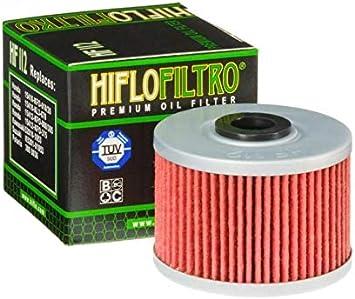 Hiflo Filtro HF112 - Filtro de aceite para quad Polaris 500 Predator de 2003 a 2007: Amazon.es: Coche y moto