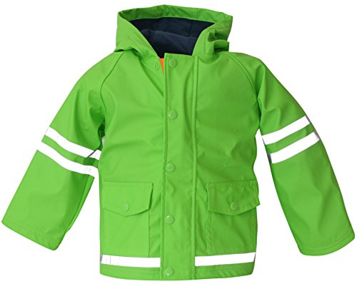 Green Boys Raincoat - 3