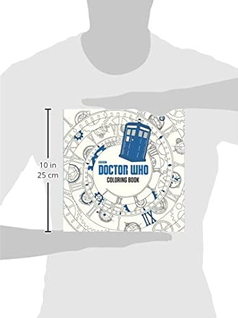 Amazon Doctor Who Coloring Book 9780399542299 James Newman Gray Lee Teng Chew Jan Smith Books