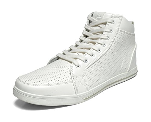 Mens White Casual Shoes - 2