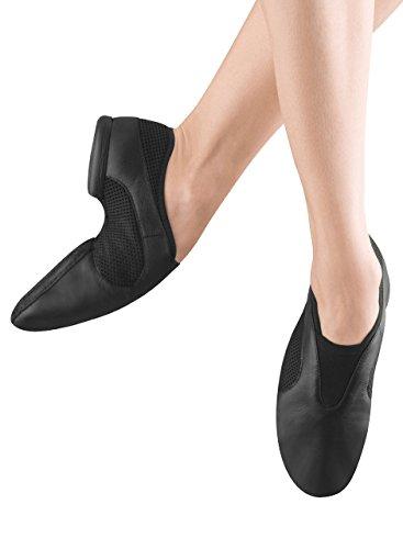 Bloch Women's Flow Slip On Jazz Shoe,Black,5 M US