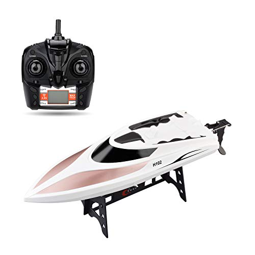 STOTOY TY62 RC Boat Remote Control Electric Racing Boat 2.4GHz 40KM/H High Speed Automatically 180 Degree Flipping - Control Power Radio Racing Electric