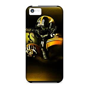 Top Quality Cases Covers For Iphone 5c Cases With Nice Pittsburgh Steelers Appearance