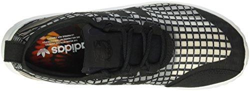 ZX ADV Basses Core Noir Flux 40 Verve Core Black Black Femme EU adidas Core Baskets White wEHqwd