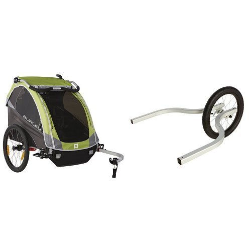 Burley Bicycle Trailer Jogger Stroller Kit Double - 6