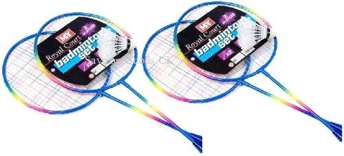 4 Player badminton racket set /& shuttle cock.