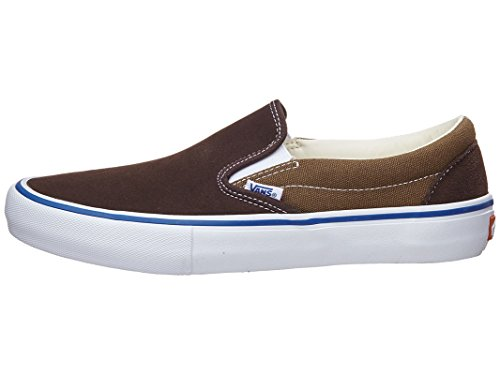 Zapatillas Vans Hombres Slip-on Pro Skate Coffee Bean / Teak