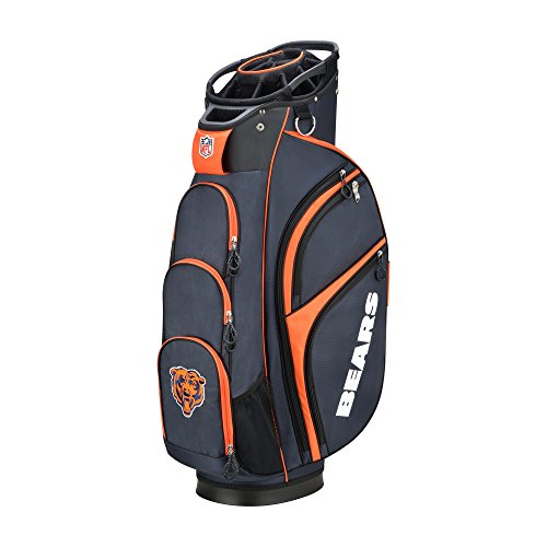 Wilson 2018 NFL Golf Cart Bag, Chicago Bears