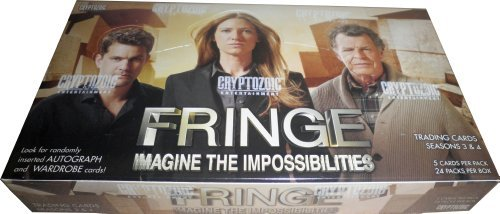 Cards Box 4 Trading Season - 2013 Cryptozoic Fringe Seasons 3 & 4 Factory Sealed Trading Card Box