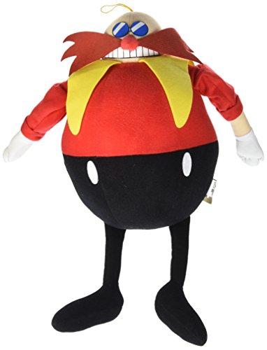 """Great Eastern GE-52632 Sonic the Hedgehog 14"""" Dr. Eggman Plu"""
